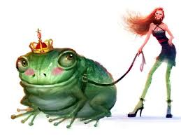 100 King Of The Frogs She And Her Big King Frog Frog Art Frog Art Frog Illustration Toad