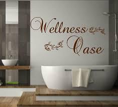 wandtattoo bad sauna schlafzimmer badezimmer wellness oase