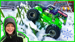 Monster Trucks For Children In The Snow! - YouTube Superman Peppa Pig And Other Monster Trucks Parking Truck Sports Car Kids Race Youtube Grave Digger Mayhem Cartoon Image Group 57 Lion For Children Mega Tv Fire Truck Bulldozer Racing Car And Lucas The Videos For Hot Wheels Monster Jam Toys Best Series Compilation Trucks Children Dinosaur Toys Ocean Toy Videos Sharks Truck For Children Street Vehicle Playing At Home Play Bowling Vehicles 3d Cars