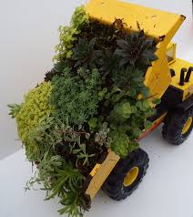Tonka Dump Truck Planter