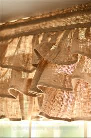 Full Size Of Kitchenmaking Curtains Out Burlap Curtain Ideas No Sew Kitchen Valances