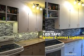 how to install led cabinet lighting mobcart co
