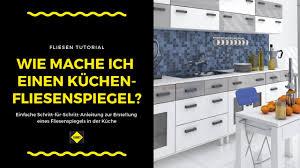 fliesen als fliesenspiegel in der küche verlegen und verfugen sakret heimwerker tv