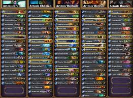 Hearthstone Arena Deck Builder Help by Hearthstone News All Decklists From Seatstory Cup Gosugamers