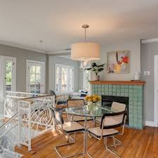 Inspiration For An Eclectic Medium Tone Wood Floor And Brown Great Room Remodel In Los