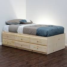 Twin Captains Bed With 6 Drawers by Bed Frames Twin Captains Bed With Storage Twin Xl Trundle Bed