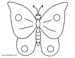 Coloring Pages Rabbit Butterfly