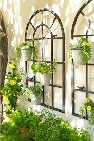 Garden Wall Decorations Ideas
