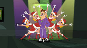 Phineas And Ferb Halloween by I Really Don U0027t Christmas Phineas And Ferb Wiki Fandom