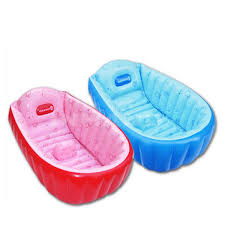 summer portable large baby toddler inflatable bathtub thick