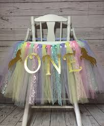 Unicorn High Chair Tutu, Unicorn First Birthday, Unicorn Smash Cake ... Tutu Tulle Table Skirts High Chair Decor Baby Shower Decorations For Placing The Highchair Tu Skirt Youtube Amazoncom 1st Birthday Girls Skirt Babys Party Ivoiregion Chair 44 How To Make A Pink Romantic 276x138 Originals Group Gold For Just A Skip Away Girl 2019 Lovely