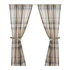 Ikea Sanela Curtains Red by Ikea Benzy Plaid Curtains Drapes 2 Panels Beige Tan Gray Purple