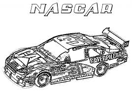 Coloring Pages Race Car Page Senderlyco With