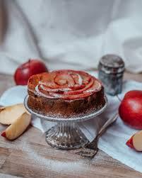 low carb kuchen rezept gesunder apfelkuchen carinaberry