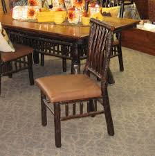 42 X 72 Lake Lodge Dining Table With 2 Arm Chairs