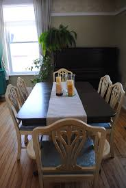 Vintage 1940's Dining Room Table And Chairs. Chairs Finished ...