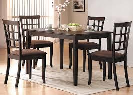 Acme 06850 Cardiff 5pcs Espresso Wood Dining Table Set