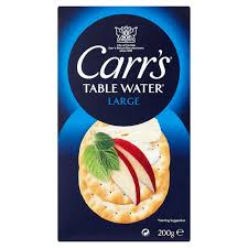 table carr cuisine carrs table water biscuits 200g tesco groceries
