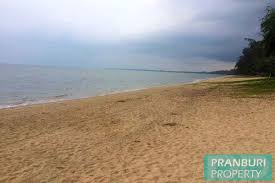 100 Absolute Beach Front Beach Front Land For Sale South Of Hua Hin Thailand Perfect