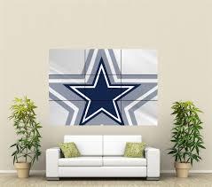 Dallas Cowboys Baby Room Ideas by Dallas Cowboys Giant Wall Art Poster Nfl111 Ebay Home Decor