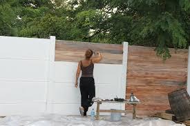 mur de separation exterieur peinture sur ciment exterieur evtod