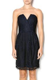 adelyn rae strapless lace dress from new york by just b boutique