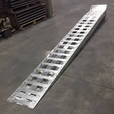 100 Heavy Duty Truck Service Ramps Aluminum Low Profile Semi 15000 Lb
