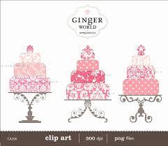 Wedding Cake Clipart Black and White Inspirational Pink Wedding Cake Clipart 58