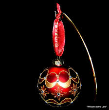 Clovis Christmas Tree Lane by Waterford Holiday Heirlooms Christmas Tree Ornaments