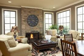 Living Room Wall Clocks Extra Large Decorative Round Clock Above Fireplace