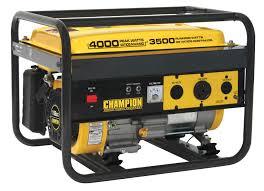 Generac Portable Generator Shed by Champion Power Equipment 46533 3500 4000 Watt Portable Gas
