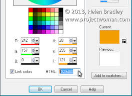 Convert Hex To VBA Colors Projectwoman