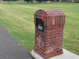 100 Letterbox Design Ideas Brick Brick Veneer Kitchen Backsplash Home S