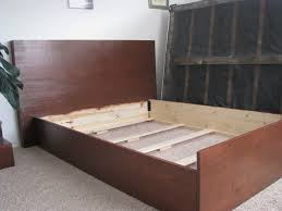 Bed Frame With Headboard And Footboard Brackets by Bed Frame Headboard Brackets For Wood Frames Hanging Bed Frame