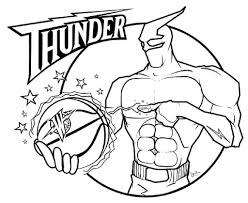 Basketball Teams Coloring Pages Getcoloringpages Within Nba Logo