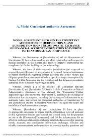 Model petent Authority Agreement