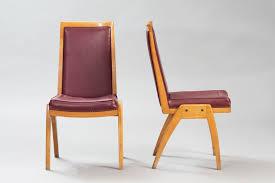 österreichische vintage esszimmer stühle 7er set