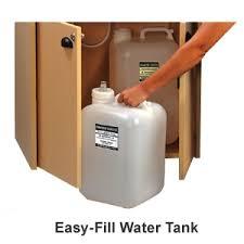 ozark river portable hand sink laminate top deep basin single