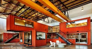 Back In 2009 I Read An Article About Shipping Containers Used As Offices Inside A