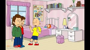 caillou scares rosie and gets grounded youtube