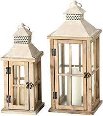 de 2er set innen außen laternen balkon windlichter