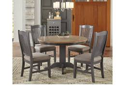 AAmerica Port Townsend 5 Pc Table & Chair Set- (Round Table & 4 ... 5 Pc Small Kitchen Table And Chairs Setround 4 Beautiful White Round Homesfeed 3 Pc 2 Shop The Gray Barn Spring Mount 5piece Ding Set With Cm3556undtoplioodwithmirrordingtabletpresso Kaitlin Miami Direct Fniture Upholstered Chair By Liberty Wolf Of America Wenslow Piece Rustic Alpine Newberry 54 In Salvaged Grey Art Inc Saint Germain 5piece Marble Set 6 Chairs Tables