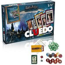 Image Is Loading Harry Potter Cluedo Mystery Board Game Kids Hogwarts