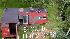 100 Build A House With Shipping Containers Odd Life Crafting We Finished Framing Our Container