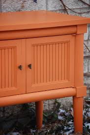 Chalk Paint Colors For Cabinets by 67 Best Barcelona Orange Chalk Paint By Annie Sloan Images On