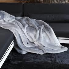 plaids fausse fourrure pour canapé phoque plaid en fausse fourrure couverture fourrure synthétique