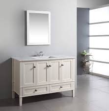 48 Bathroom Vanity Without Top by White Bathroom Vanity 48 Inch Decorating Clear