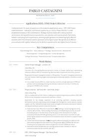 Senior Project Manager London Uk Resume Samples