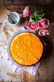 mädchenbäckerei käsekuchen mit mandarinen