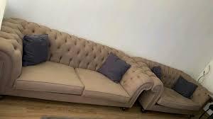wohnzimmer sofa hellbraun